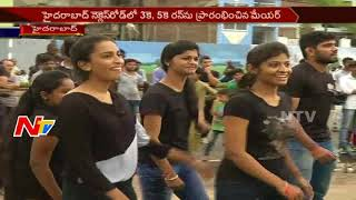 GHMC Mayor Starts 3K, 5K Run For an Awareness Programme at Necklace Road || Hyderabad || NTV - NTVTELUGUHD