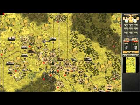 Panzer Corps GC43 Scenario: 6 Kursk Armory North Part 2