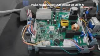 Ремонт Холодильника HITACHI R WB482PU2 Инверторный компрессор Часть 2
