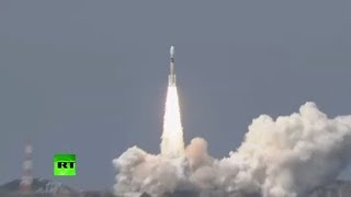 RAW: Japan launches satellite-carrying rocket - RUSSIATODAY