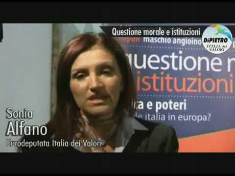 Sonia Alfano e la società civile