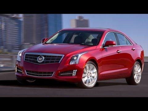2013 Cadillac ATS -- 2012 Detroit Auto Show