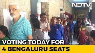 """Cannot Miss It"": Bengalureans Come Out In Large Numbers To Cast Their Votes - NDTV"