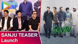 Sanju Teaser Launch | FULL UNCUT | Ranbir Kapoor | Rajkumar Hirani | Vidhu Vinod Chopra | Part 2 - HUNGAMA