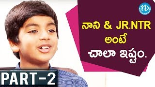 Fidaa Movie Child Artist Aryan Exclusive Interview Part #2 || Talking Movies With iDream #465 - IDREAMMOVIES