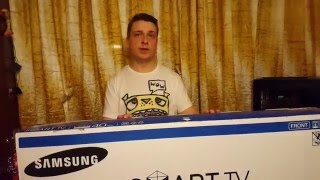 Обзор телевизора Samsung UE40J6330AU