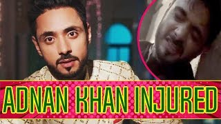 Adnan Khan INJURED | TellyChakkar - TELLYCHAKKAR