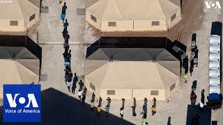 U.S. / Mexico Border Detention Center Photo Slideshow - VOAVIDEO