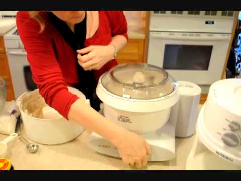 How to Make Bread with the Bosch Universal Plus Mixer
