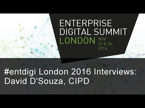 #entdigi16 Interviews: David D