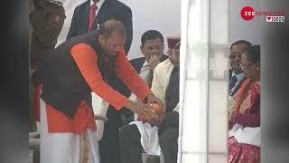 कुम्भ 2019: राष्ट्रपति रामनाथ कोविंद ने संगम मे पूजा की - ZEENEWS