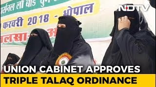 Triple 'Talaq' To Be An Offence, Cabinet Clears Executive Order - NDTV