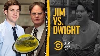 "What Are Jim's Top 3 Pranks on Dwight in ""The Office""? - COMEDYCENTRAL"