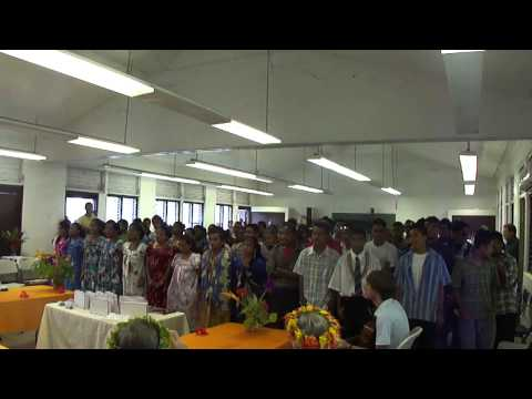 Tirou, Tirou, Tirou Womi; Chuuk High School 2012