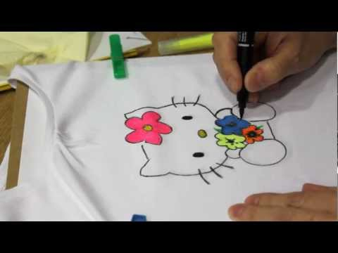 DIY: Cmo pintar una camiseta de Hello Kitty