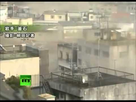Japón: imágenes impactantes del tsunami