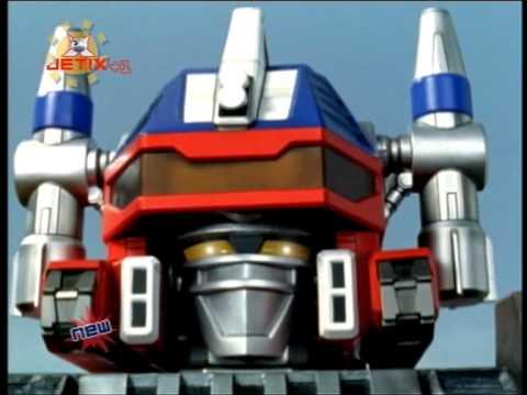 Jetix UK: Power Rangers Operation Overdrive trailer - Rangers