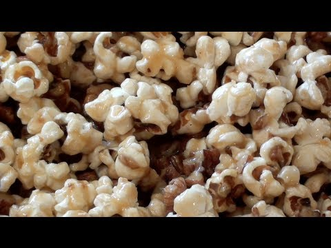 CARAMEL POPCORN - VIDEO RECIPE