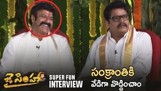 Jai Simha Team Exclusive Interview | Balakrishna, KS Ravi Kumar | TFPC - TFPC