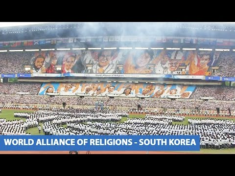 Card- Section performance at the World Alliance of Religions - Peace Summit 2014