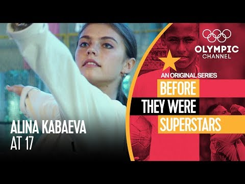 Alina Kabaeva Before Her First Olympics   Before They Were Superstars
