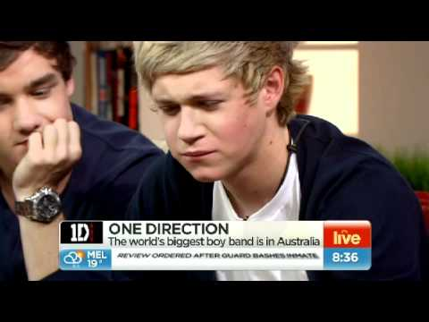 Niall from 1D tries vegemite toast - Buy it now on eBay!