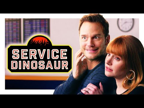 My Dinosaur Is a Service Animal (with Chris Pratt and Bryce Dallas Howard!) | CH Shorts - يوتيوبات