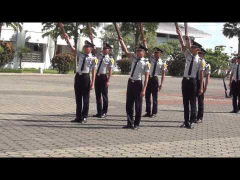 Kolone senapan politeknik pelayaran surabaya DP3 ANK 3