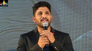Allu Arjun Speech at Traffic Awareness Programe | Hyderabad Traffic Police | Sri Balaji Video - SRIBALAJIMOVIES