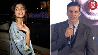 Alia Doesn't Want To Meet Sidharth | Akshay: 'My Wife's Taunts Stopped After National Award Win'