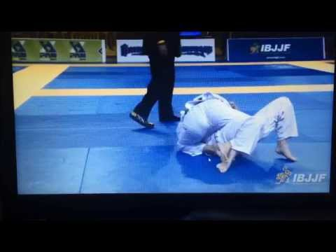 Graziela Barum First Match Pan Am 2014