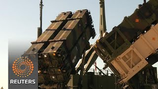 First U.S. anti-aircraft missiles deploy to Baltics - REUTERSVIDEO