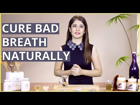 3 Natural Home Remedies To CURE BAD BREATH