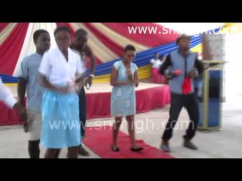 Kalybos dances with sister @ the Let It Shine Program @ K Wey Gey Hey