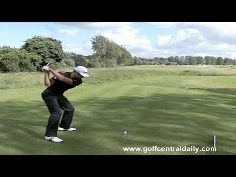 Dustin Johnson 384 Yard Drive in Captured in Biz Hub Swing Vision Style Slow Motion