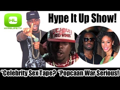 Celebrity Sex Tape? Popcaan War Serious! // Hype It Up Show