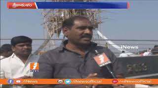 Jagan Padayatra Coordinator Raghuram Face to Face On Praja Sankalpa Yatra Stupa at Ichapuram | iNews - INEWS