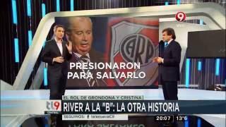 CFK No Quería que River Descienda