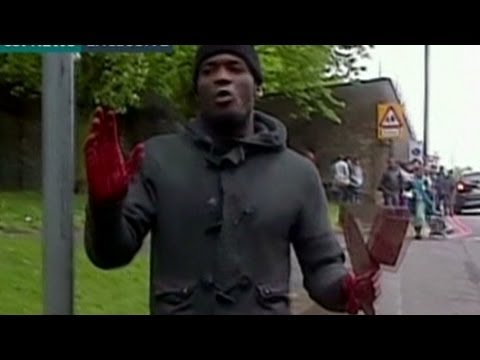 London attack suspect caught on video