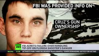 FBI & police knew the Florida shooter posed a threat, but 'protocol wasn't followed' - RUSSIATODAY