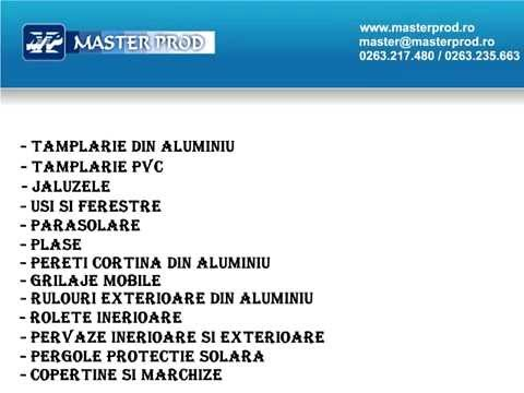 Tamplarie PVC si Aluminiu Bistrita - Master Prod SRL