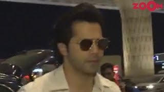 Varun Dhawan Flies Off To Lucknow For 'Sui Dhaaga' Promotions & More | Bollywood News - ZOOMDEKHO