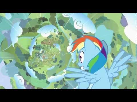 My Little Pony Przyjaźń to Magia  - Double Rainboom by Zachary Rich - Napisy PL - część 1