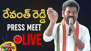 Revanth Reddy Press Meet | Revanth Challenge to KTR And Raised File case on KCR | Mango News - MANGONEWS