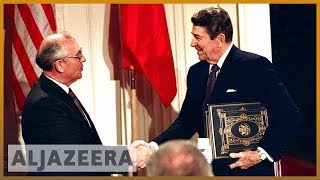 🇷🇺🇺🇸 Gorbachev deplores Trump move to scrap US-Russia nuclear treaty | Al Jazeera English - ALJAZEERAENGLISH