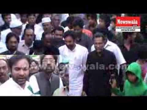 BJP MLA Kishan Reddy visited Bibi Ka Alawa during Muharram 2013