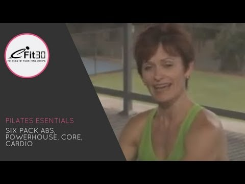 Pilates Essentials, FULL 30 Minute exercise video - eFit30