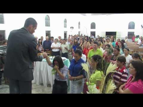 PRESBÍTERO WESDRA MARCIANO / CANTORA MARINETE ALVES - RIBEIRÃOZINHO-MT