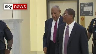 Actor Bill Cosby jailed for up to 10 years for sexual assault - SKYNEWS