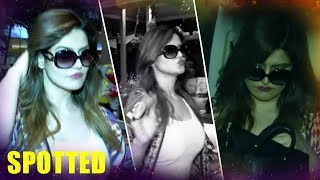 Hottie Zareen Khan SPOTTED At Mumbai Airport - HUNGAMA